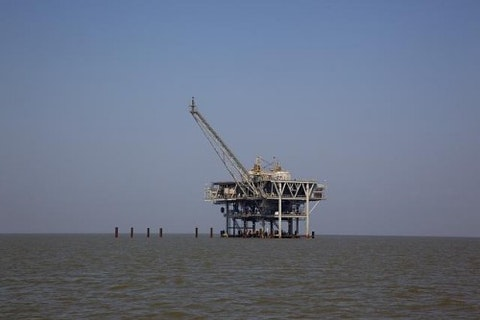 Offshore Oil Drilling BP RIG