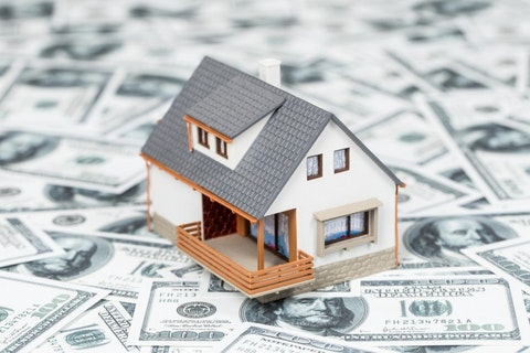 Home expenses or investing concept., home, loan, wealth, financing, buy, save, business, income, property, estate, possession, household, retirement, real, ownership, moneybox, invest, house, costs