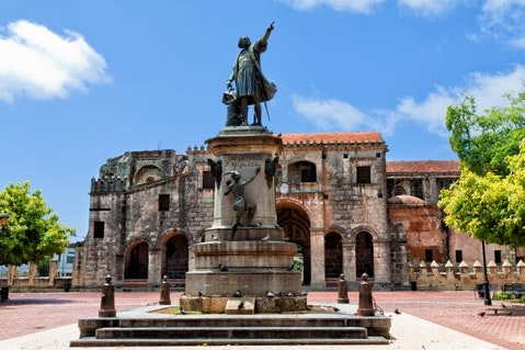 monument, caribbean, spanish, plaza, christopher columbus, cathedral, urban landscape, tropical, statue, dominican republic, cultural icon, hispanic, santo domingo, 11 Best Places to Visit in Dominican Republic for Singles