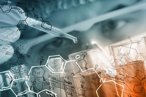 researcher, research, background, medical, health, test, chemistry, experiment, equations, technician, table, reaction, pharmaceutical, periodic, liquid, dropper, tool, bio, discovery
